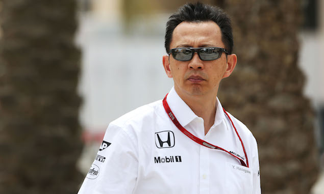 Yusuke Hasegawa, Honda F1