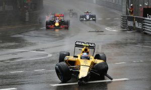 New chassis for Palmer after Monaco crash