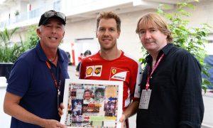 Sebastian Vettel acquires art collection celebrating  F1 World Champions