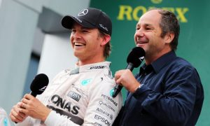 Rosberg contract talks unaffected by latest clash - Berger