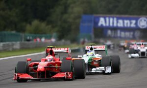 Kimi's fourth win at Spa
