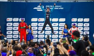 Buemi wins Formula E opener in Hong Kong