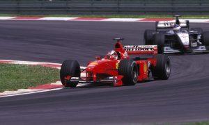 Schumacher's cracking return in Malaysia