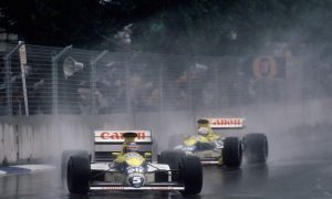 Boutsen brings it home as Senna rages