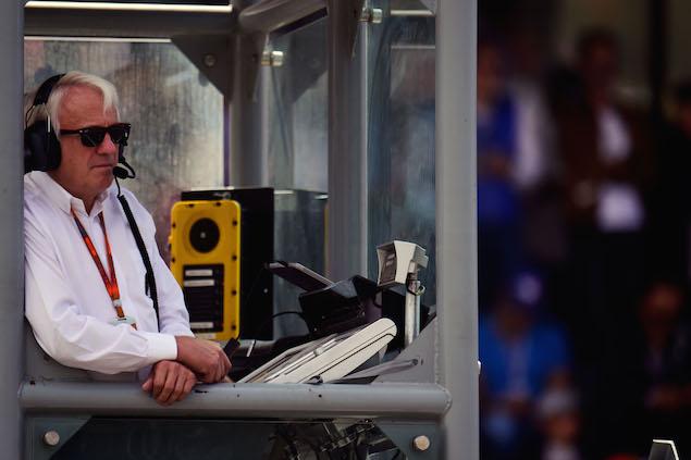 Charlie Whiting (GBR) FIA Delegate. 30.10.2016.