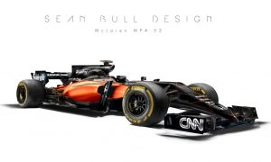 GALLERY: McLaren's future livery - a hint from Sean Bull