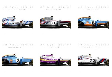 Stunning: modern F1 cars painted in iconic Le Mans liveries
