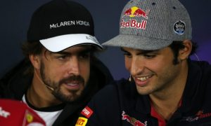 Sainz wouldn't move over for Alonso, ever!