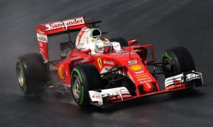 Teams get wet weather test in Barcelona