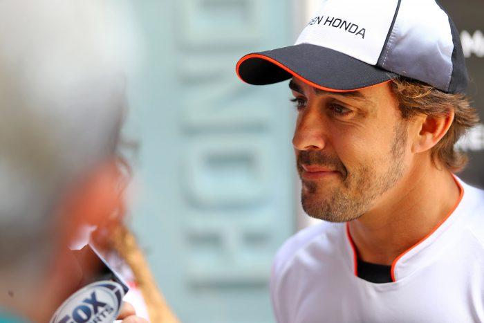 Fernando Alonso's Hollywood dream date