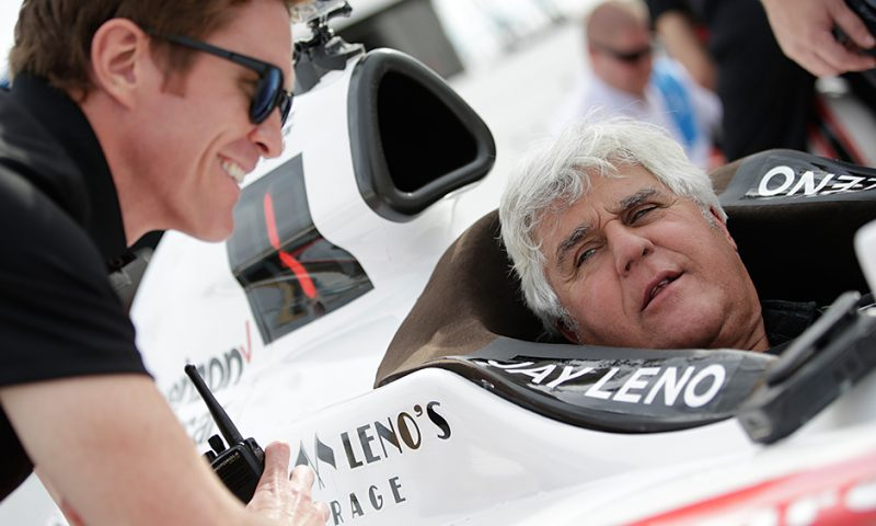 Jay Leno: No laughing matter driving an Indycar!