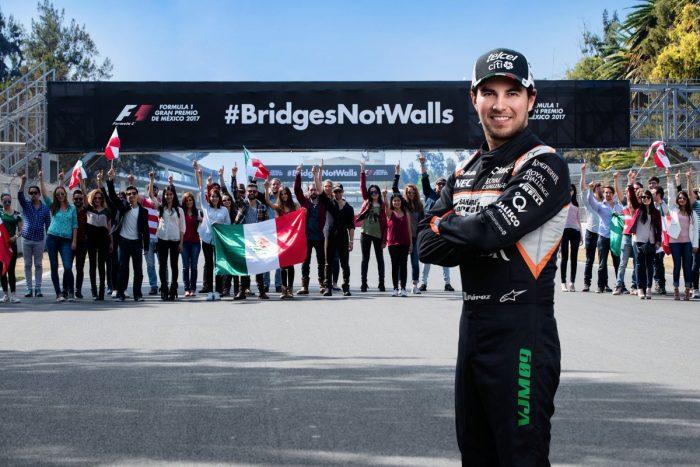 Perez endorses Mexican GP anti-Trump campaign