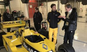 Video: Jabouille back in action at Renault!