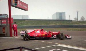 Video: Raikkonen gets first shake-down of SF70H!