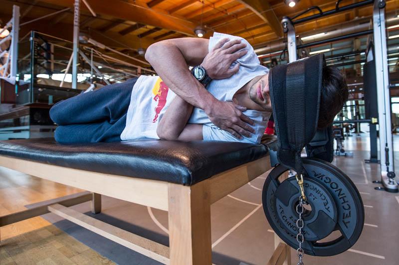 Sainz endures toughest physical prep program ever