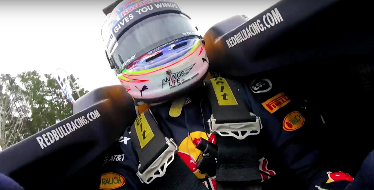 Ride on board with Daniel Ricciardo in Houston