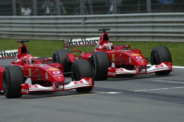 Brawn: Staged finish in Austria 2002 a big mistake for Ferrari