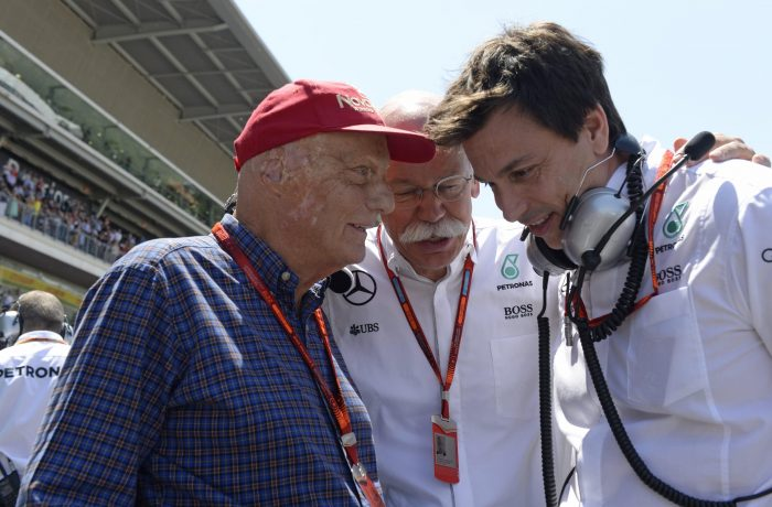 Lauda: no sand-bagging at pre-season Barcelona test!