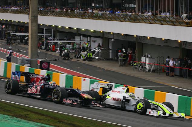 Formula 1 Grand Prix, Brazil, Sunday Race