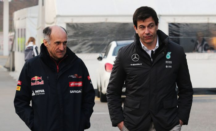Tost wants Mercedes engine freeze, for the sake of fairness!
