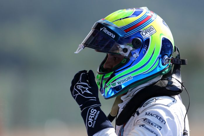 Massa has a 'fun day' testing Jaguar FE