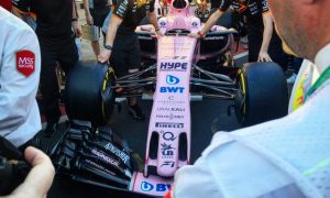 Force India rolls out its pink attitude