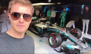 Video: Rosberg captures the action, because he can!