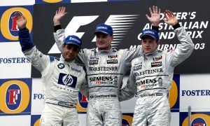 Birthday boy Coulthard's last Grand Prix triumph