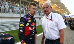 Daniil Kvyat and Helmut Marko, Red Bull