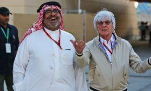 Bernie back in the paddock in Bahrain!