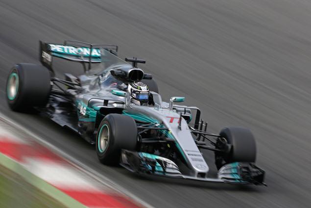 Bottas breaks F1 testing record on Wednesday morning