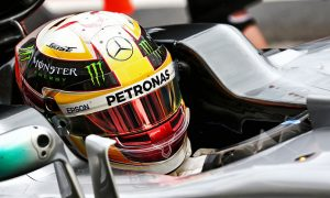 Friday was '99 per cent perfect' for Hamilton