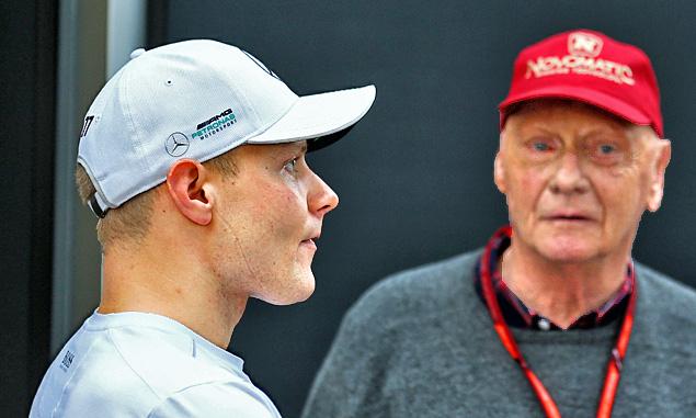 Mercedes must take the blame for Bottas slump - Lauda