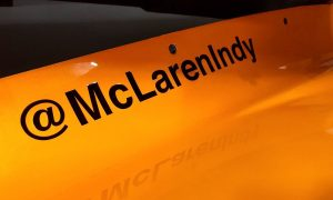 The McLaren papaya returns to Indy