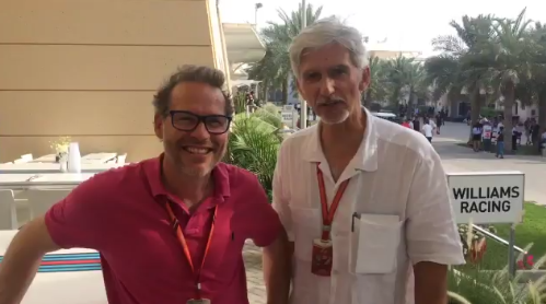 The F1 paddock wishes Sir Frank a happy 75th birthday