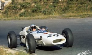 The first man to drive a Honda-engined car in F1