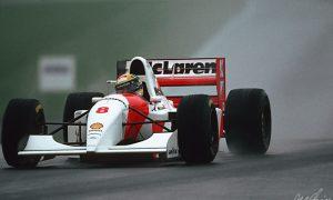 Senna reigns supreme at Donington