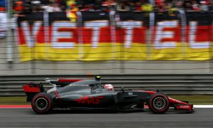 Magnussen and Haas rewarded with points after solid drive