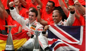 McLaren and Alonso: success in a bygone era