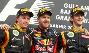 First double podium joy for Lotus F1
