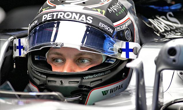 Valtteri Bottas wants you to design his 2018 helmet!