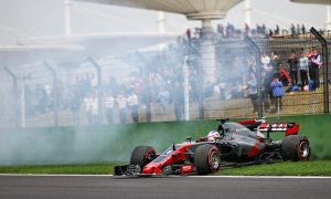 Grosjean frustrated by Q1 spin and grid penalty