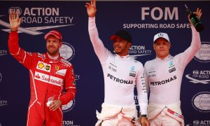 Potential wet start on Sunday 'excites' Hamilton