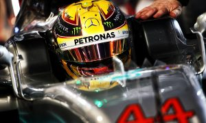 Hamilton sees 'big battle' brewing for quali with faster Ferrari