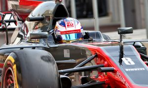 Grosjean gets all the luck for Haas in qualifying