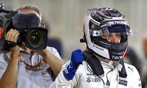 Bottas beats Hamilton to Bahrain pole!