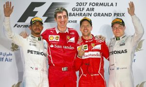 Vettel victorious as Hamilton toils to second in Bahrain