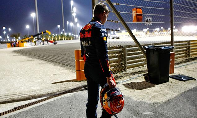 Verstappen's long walk home