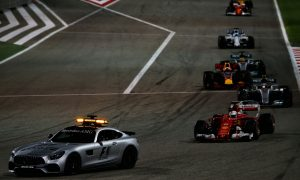 F1 to use standing starts after red flag periods