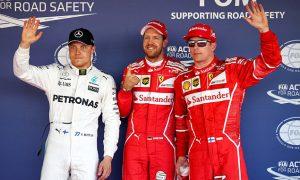 Vettel and Raikkonen lock out Sochi front row